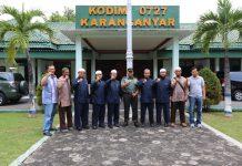 Kunjungan Isy Karima ke Instansi Karanganyar